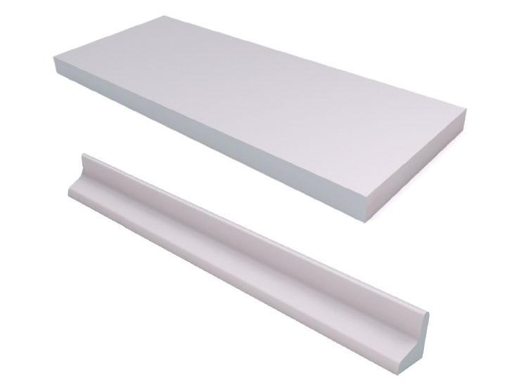 Deep litter plates and edges