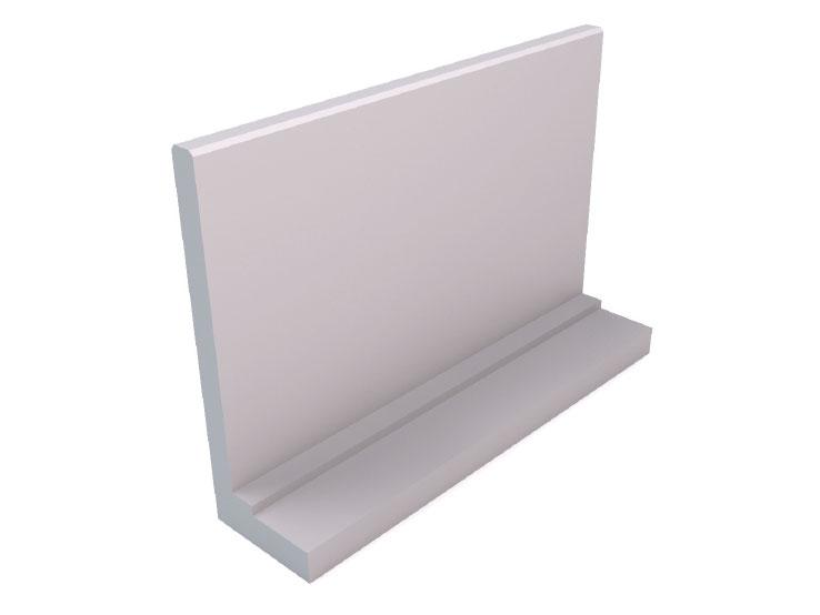 End cubicle walls (straight)