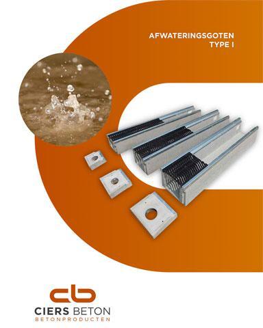Afwateringsgoten brochure