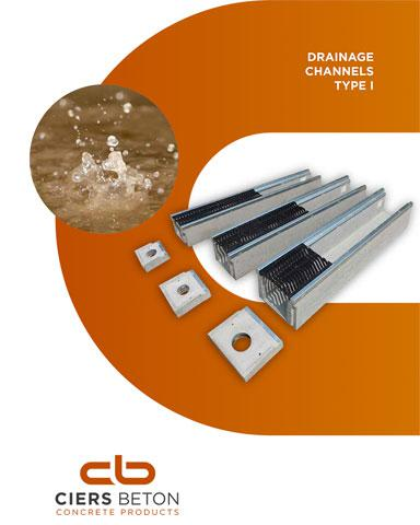 Drainage channels brochure