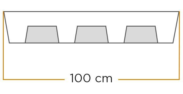 Fente 3,5 cm