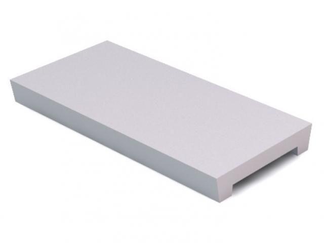 Concrete slats